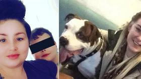 Matka  pařila venku s kamarády a jejího synka (†9) zatím rozsápal kříženec buldoka: Za mřížemi stráví 2 roky!