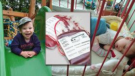 František (1,5) po porodu krvácel, lékaři odhalili krutou nemoc! Bohužel se dědí