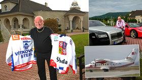 Luxusní život voňavkového miliardáře Buksy (†74): Kdo zdědí barák, auto a letadlo?!