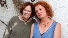 Lesbička Jitka Smutná po těžké nemoci září: S dcerou Terezou jsou jako sestry!