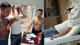 Lékaři byli v šoku: Muž přišel na pohotovost se sekáčkem v hlavě