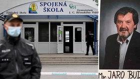 Učitel Jaroslav (†62) se ve Vrútkách statečně postavil vrahovi: Doma na něj čeká čtyřletá dcerka!