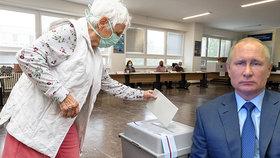 Putin láká voliče k urnám a slibuje slevy v obchodě i losování o byt. Kvůli referendu
