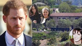 Princ Harry v obklopení žen: Stěhování tchyně do milionového sídla a pomoc od kamarádky Diany (†36)!