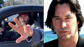 Keanu Reeves se změnil k nepoznání! Hollywoodský fešák připomíná bezdomovce