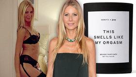 Gwyneth Paltrowová opět šokuje: Po vaginální svíčce prodává svůj orgasmus!
