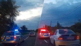 Mladý řidič neunesl rozchod s dívkou: Zdrogovaný ujížděl policii rychlostí 230km/h!