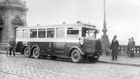 Autobusy jezdí Prahou od roku 1925: Ustály válku i nástup metra