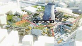 Z továrního areálu Špitálka bude nová čtvrť Brna: Z chladící věže se stane rozhledna