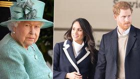 Rezolutní rozhodnutí Meghan a Harryho: Do královské rodiny se už nikdy nevrátí!