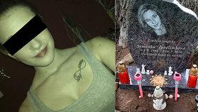 Simonu (†18) na Orlíku zabil frajírek na skútru: Dojatá maminka odhalila dceřin pomník