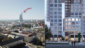 60 pater a 238 metrů výšky: V Ostravě vyroste nejvyšší mrakodrap v Česku!