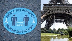 Eiffelova věž se znovu otevírá: Žádný výtah, všude dezinfekce a povinné rozestupy