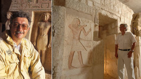 Zemřel významný egyptolog Břetislav Vachala (†67). Do češtiny přeložil Knihu mrtvých