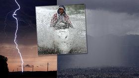 Přes 100 mrtvých po zásahu bleskem: V Indii začalo období monzunů a živelních pohrom
