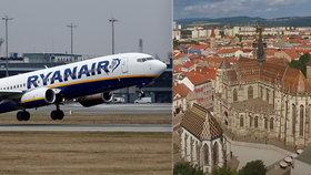 ČSA a Ryanair rozjely bitvu o linku Praha-Košice. Češi ale mají ve velkém i propouštět