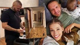 Jasmina Alagič a Rytmus otevřeli dveře svého domu: Podívejte, v jakém luxusu žijí!