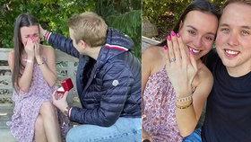 Zašifrované zprávy a pak slzy! Nejslavnější český youtuber Jirka Král se zasnoubil