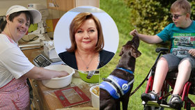 Postižení bez práce i bez psích asistentů: Neziskovkám chybí peníze, dárci ubývají
