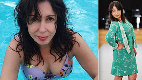 Další odvážné foto Nely Boudové (52): Vytasila přednosti a nestačila se divit!