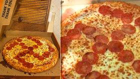 Pizza s hákovým křížem nemile překvapila zákazníky. Dva zaměstnanci dostali padáka