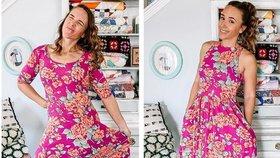 Jedny a ty samé šaty? Mladá maminka přešívá oblečení ze sekáče a výsledek je dokonalý!
