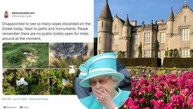 """Znechucená Alžběta II.: Z jejího majetku je žumpa! Lidé k ní chodí """"na velkou"""""""