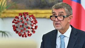 Koronavirus na úřadu vlády: Jak zareagoval Babiš? Kolegové nakaženého jsou v karanténě