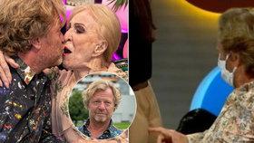 Maroš Kramár se nezdá: Po kauze s kostymérkou vášnivá líbačka se starší herečkou (93)!