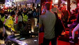 Karanténa v Anglii skončila: Ulice měst se změnily v jednu velkou párty!