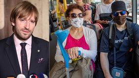 """Koronavirus ONLINE: Vojtěch """"škudlí"""" s testy po karanténě a návrat roušek na Kutnohorsku"""