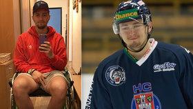 Prvoligovému hokejistovi našli nádor na srdci: Ondrovi (20) teď pomáhají kamarádi