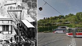 Nejstarší pražský eskalátor byl ze dřeva. Jezdil na Letnou a zahrál si dokonce i ve filmu