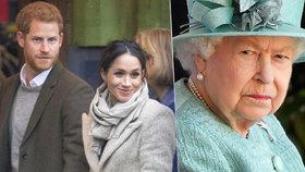 Nezdárný vnuk Harry naštval královnu! Drsně kritizoval Británii