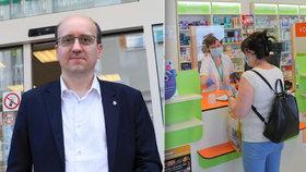 Šéf lékárníků o pandemii: Nedostatek pomůcek, vykoupené roušky a jen hrstka nakažených