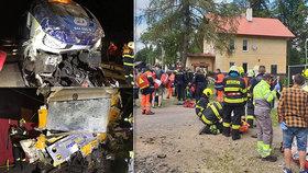 Nehodu vlaků u Perninku způsobil strojvedoucí, tvrdí inspekce: Asi si spletl den, domnívají se