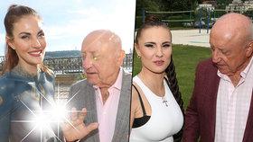 Vilný Slováček opět v akci: Z nadupaného dekoltu známé zpěvačky nespustil oči!