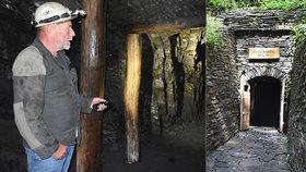 Unikátní procházka pod zemí: V Odrách otevřeli Flascharův břidlicový důl
