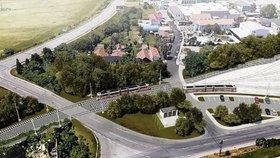 Příliš hlučná tramvaj? Sen Líšně o rychlém spojení s centrem Brna se rozplývá