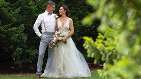 Moderátorka pořadů Blesku Tereza Kühnelová se vdala: Svatbu zkomplikoval koronavirus