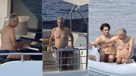 Slepý Bocelli bez pomoci na luxusní jachtě! Jak se tam zvládá pohybovat?