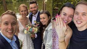 Nejslavnější český youtuber Jirka Král: Dva týdny po zásnubách přišla svatba!