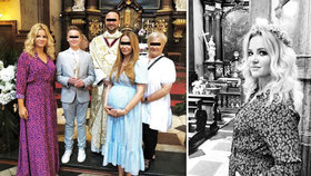 Monika Babišová jako sudička: S kamarádkami šla do kostela. Babiš promluvil o víře v Boha