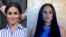Harryho Meghan radikálně změnila vzhled: Příčesky a nepřehlédnutelný botox?!
