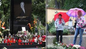 Dominika Gottová se zpožděním u hrobu táty: Vzala i maminku Antonii! Co vzkázala Ivaně?