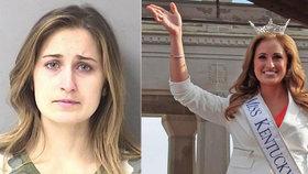 Krásná miss půjde na dva roky do vězení: Mladému studentovi poslala nemravné fotky
