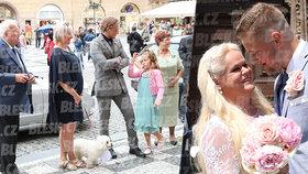 Svatba Moniky Štikové se málem nekonala: Křik a hádka s matrikářkou kvůli zpoždění!