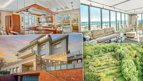 Luxus za 300 milionů v Praze! Vila australského boháče nabízí dechberoucí výhledy i vyhřívanou cestu. Podívejte se