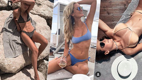 Trio českých modelek ovládlo Chorvatsko! Z těch dokonalých těl se vám zatočí hlava