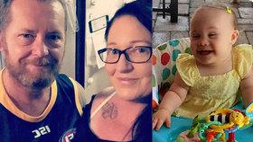 Otec a macecha nechali vyhladovět dcerku s Downovým syndromem k smrti: Další obvinění po pitvě dítěte!